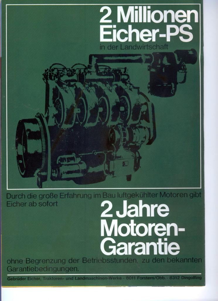 Eicher Motor Garantie