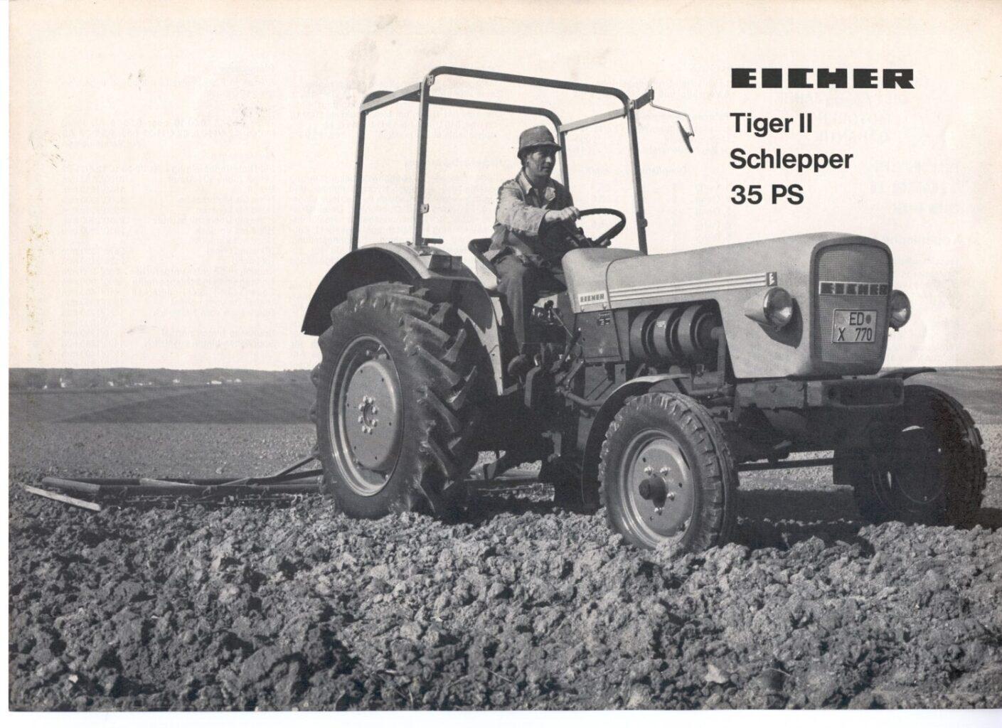Eicher Tiger II HS